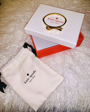 """Authentic ( Kate ♠️ Spade ) ""Gold""Bow Ladies Bracelet With Box & Dust Bag**$45 FIRM PLEASE DON'T WINDOW SHOP OR YOU'LL BE BLOCKED ""SERIOUS BUYERS ON for Sale in Merced, CA"