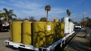 Metal barrels food grade for Sale in Sanger, CA