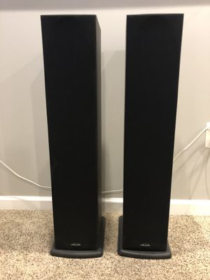 Polk Audio R40 Tower Speakers for Sale in Manassas, VA