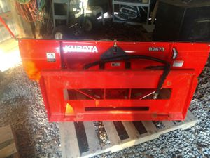 Kubota B2673 SnowBlade for Sale in Marysville, OH