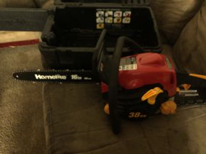Homelite 16in 40cm chainsaw GAS Powered for Sale in Falls Church, VA