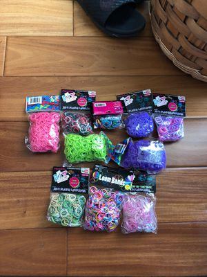 Rainbow Loom Bands for Sale in Poway, CA