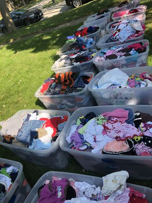 Kids clothes all sizes for Sale in Elk Grove Village, IL