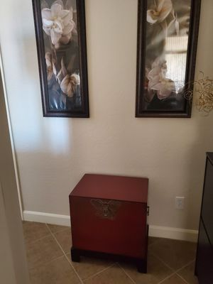 Butterfly 🦋 wooden chest for Sale in Litchfield Park, AZ