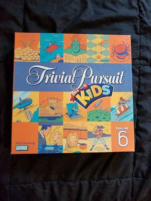 Trivial Pursuit For Kids Board Game for Sale in Freehold, NJ