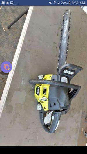 Ryobi Chainsaw - Gas Powered for Sale in Chandler, AZ