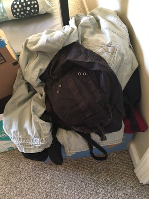 Box of women's clothes size s-m for Sale in Fuquay-Varina, NC