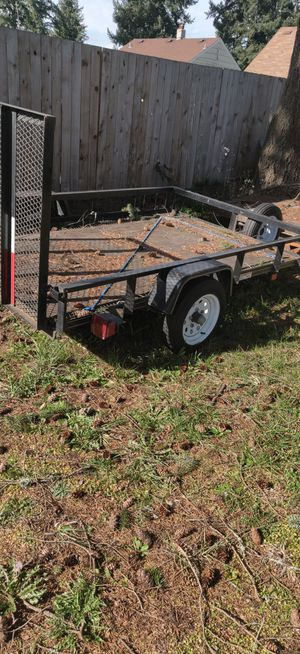 Utility trailer 5 x 8 for Sale in Tacoma, WA