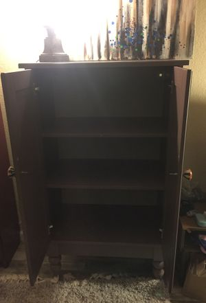 Purple vintage style cabinet with decorative knobs for Sale in Los Gatos, CA