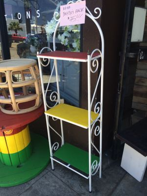 """""""Bakers"""" rack iron $75 for Sale in San Diego, CA"""