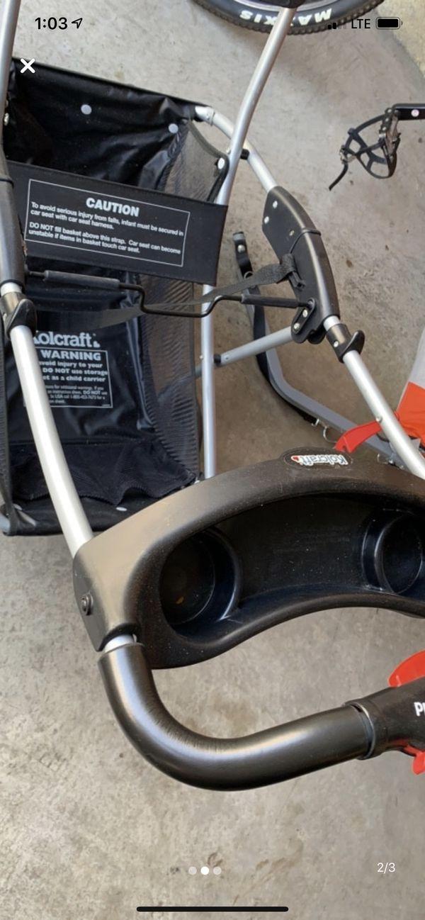 Kolcraft Universal stroller car seat carrier
