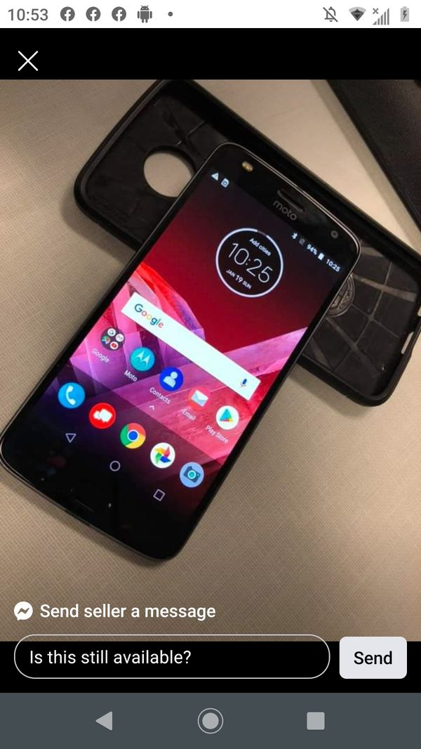 Moto z2 64 gig for Verizon
