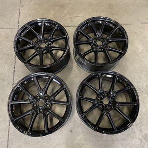 "Tesla 18"" wheels Gloss Black for Sale in Chandler, AZ"