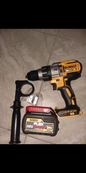 Dewalt hammer dril y bateria 60v 6.0ah for Sale in Stafford, VA