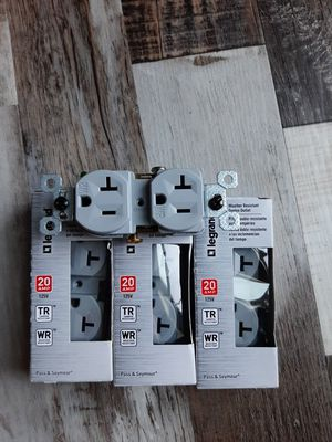 Gray outlets and Black and White switches for Sale in Tomahawk, WI