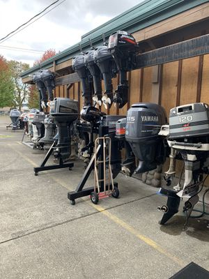 Outboard marine engine parts, new, and used. All major manufacturers. for Sale in Auburn, WA
