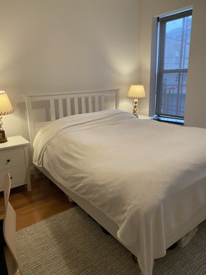 Bed frame + mattress 350 or you can get separately for Sale in Queens, NY
