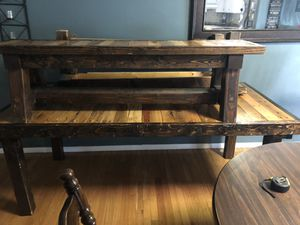 Handmade table w/ branches for Sale in Chesterfield, MO
