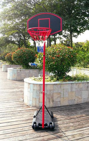 """New $50 Junior Basketball Hoop 27""""x18"""" Backboard Adjustable System with Stand for Sale in South El Monte, CA"""