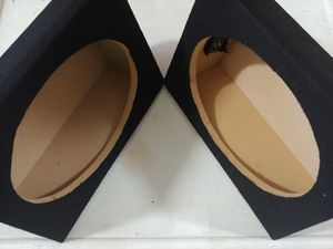 Speaker box : 6×9 tapered wedge box ( usa mdf ) w 11- h 8 -d 4 ( price is lowest ) for Sale in Bell Gardens, CA