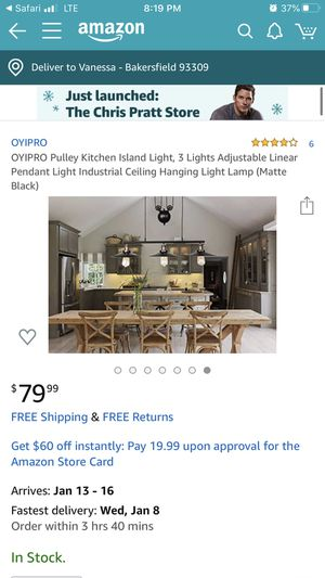 Kitchen light island for Sale in Bakersfield, CA