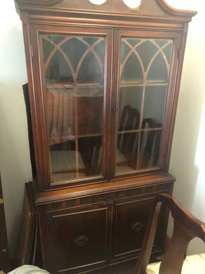 Antique China Cabinet for Sale in Rockville, MD