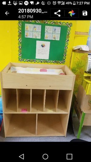 Baby changing table for Sale in Brooklyn, NY