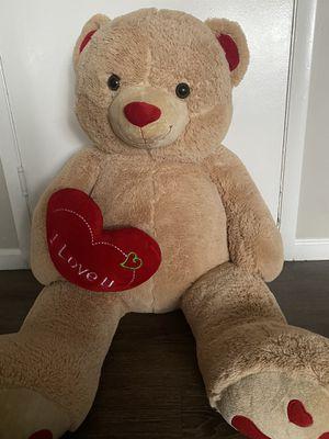 4 feet teddy bear for Sale in Bethel Park, PA