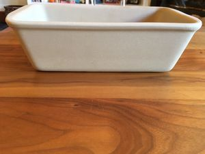 Pampered Chef Stoneware Loaf Pan - New for Sale in San Francisco, CA