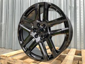"""Cheviot 22"""" new Tahoe factory style rims tires set for Sale in Hayward, CA"""