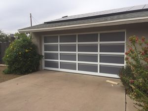 Garage Door - Glass for Sale in Scottsdale, AZ