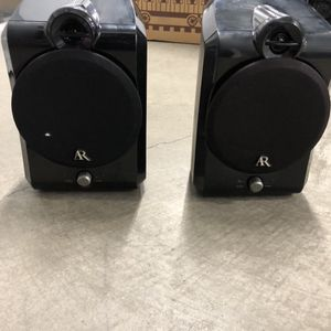 Acoustic research set of two speakers wireless very good condition great sound quality for Sale in Coronado, CA