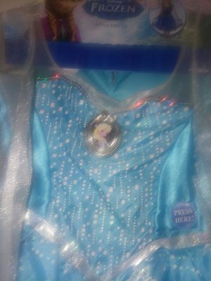 Disney frozen dress up dress for Sale in Manassas, VA