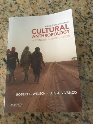 Asking questions about Cultural anthropology (A concise introduction) by Robert L. Welsch for Sale in Riverside, CA