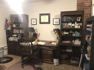 Wooden office set for Sale in Wilmington, DE