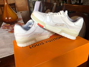 Louis Vuitton trainer sneaker!! for Sale in Orlando, FL