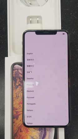 "iPhone XS Max 64GB FACTORY UNLOCKED"" Like new with warranty for Sale in Silver Spring,  MD"