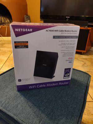 NETGEAR AC1600, DOCSIS 3.0, Modem & Router Combo for Sale in Phoenix, AZ