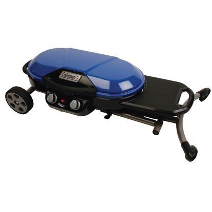 NEW - Coleman RoadTrip X-Cursion 2-Burner Portable Gas Grill & Camping Stove