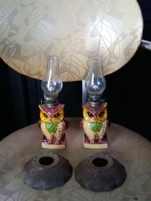 To antique glass kerosene lamp for Sale in Nashville, TN