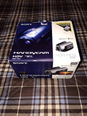 Sony Handycam HDR-HC3 High Definition Camcorder for Sale in Fountain Valley, CA