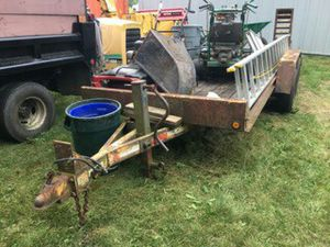 "Ready haul trailer ""skid steer"" trailer for Sale in Buffalo Grove, IL"
