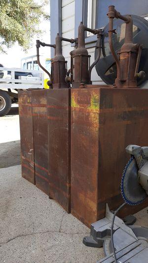 Oil pumps antique 4 total for Sale in Escalon, CA