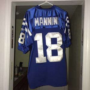 Reebok Indianapolis colts Peyton Manning Jersey size XL for Sale in Castro Valley, CA