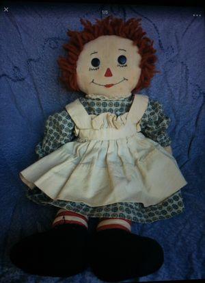 Antique homemade Raggedy Ann doll for Sale in Dallas, NC