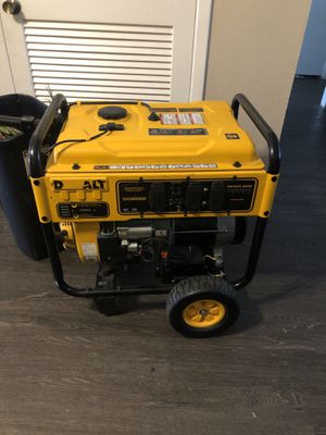 DeWalt generator for Sale in Houston, TX
