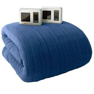 BRAND NEW- BIDDEFORD Heated MICRO PLUSH Electric Blanket DUAL DIGITAL Controller-King Blue for Sale in Tampa, FL