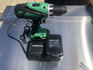 Metabo HPT Drill driver 18v for Sale in Milpitas, CA