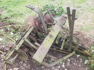 Antique farm implement - Tiller/disc harrow for Sale in Tacoma, WA