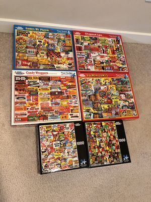 1000 PIECE PUZZLES LOT for Sale in Bothell, WA